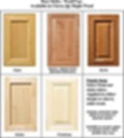 Custom built-in and kitchen cabinet doors in Northern VA