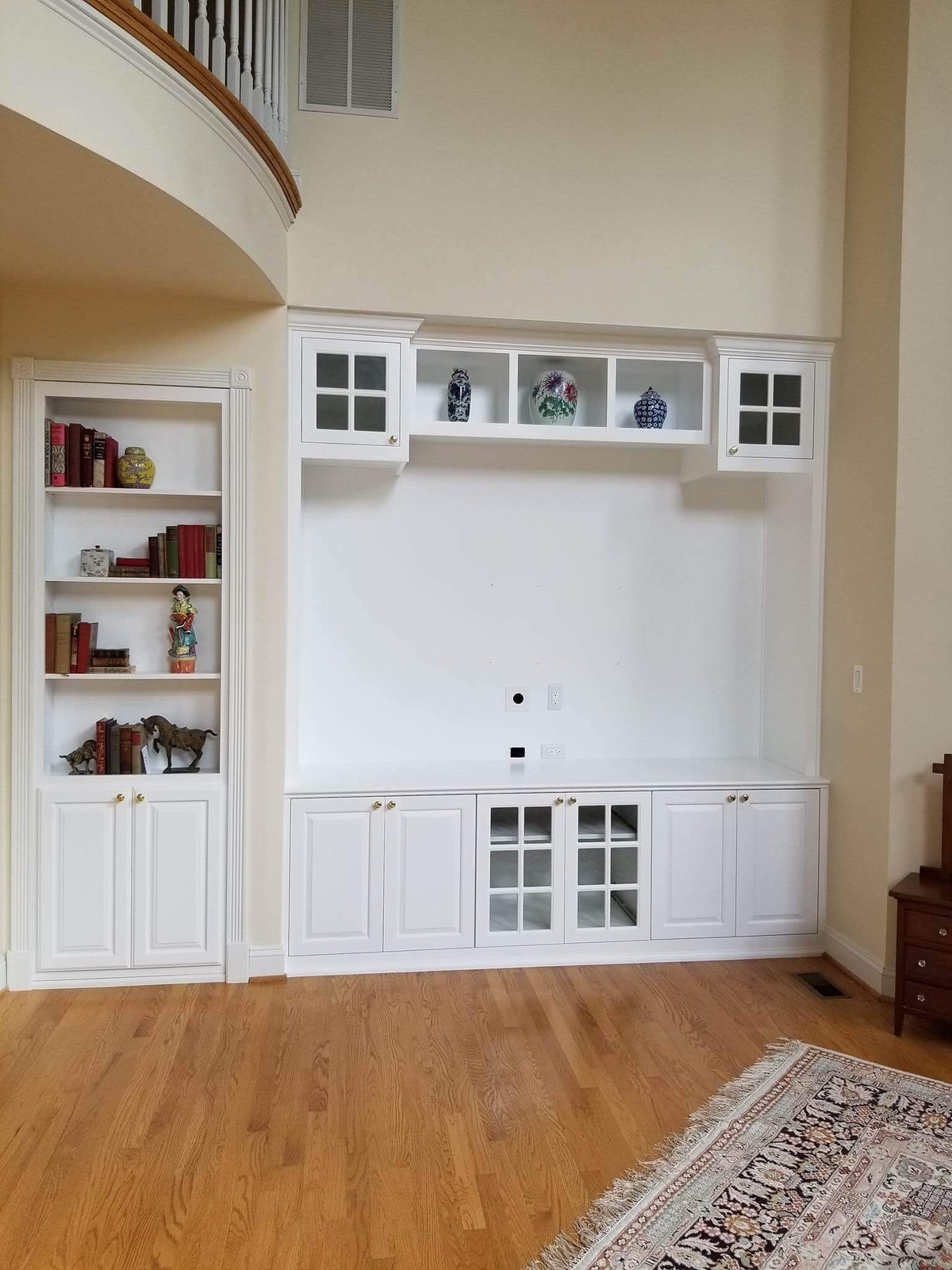 family room living room built in cabinets