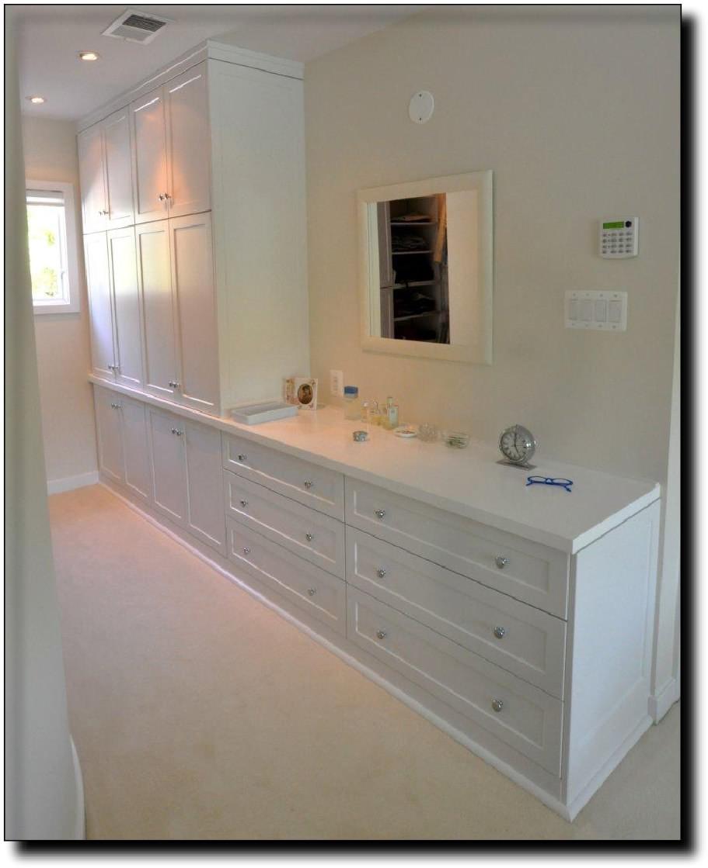 Built In Bedroom, Custom Cabinets In Reston, VA