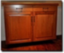 Free standing cabinet, not built-in cabinet in Fairfax, VA