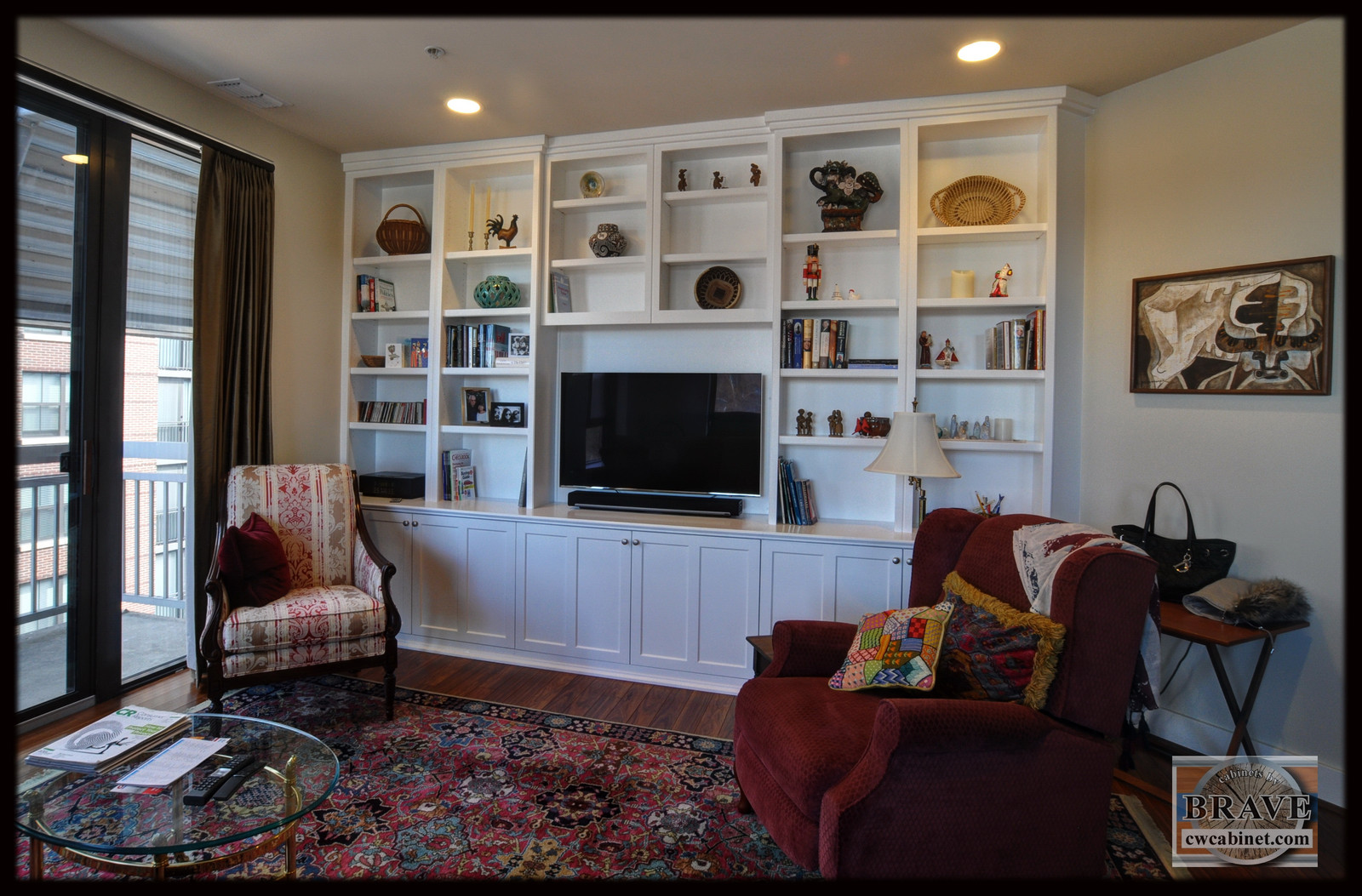 FLT  #40   Custom Cabinets For TV U0026 Media Equipment Arlington VA Custom  Cabinets Part 60