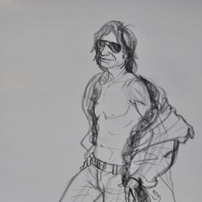 Costumed Figure Study 1