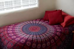 pink Mandala Red Pillows