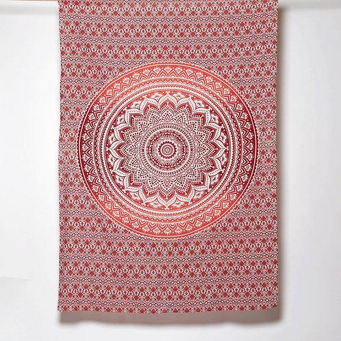 Mandala Cloth - Pretty Design Red
