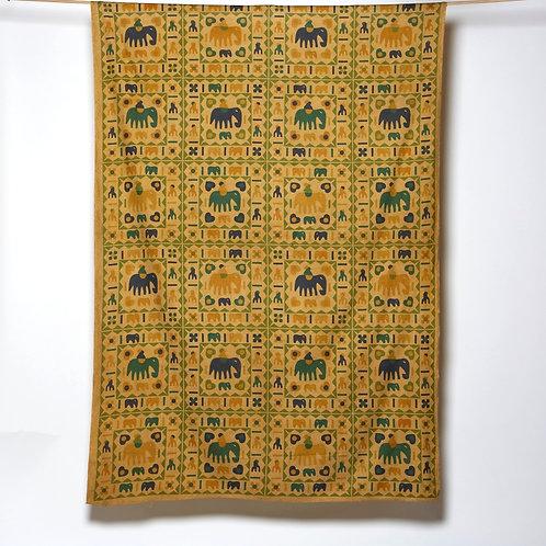 Mandala Cloth - Elephant Patchwork