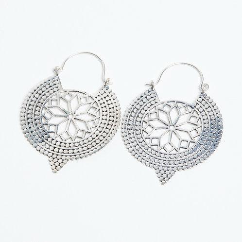 Geometry Earrings - Silver