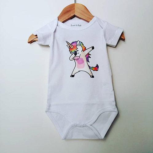 Body manches courtes bébé en coton oekotex