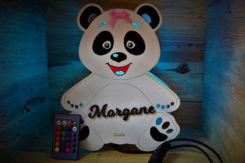 Lampe Veilleuse multicolore Panda