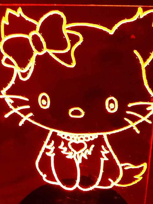 Lampe LED chat