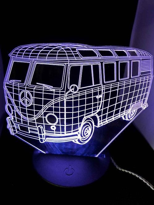 Lampe LED Combi illusion 3D
