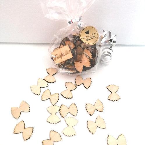 Farfalles en bois
