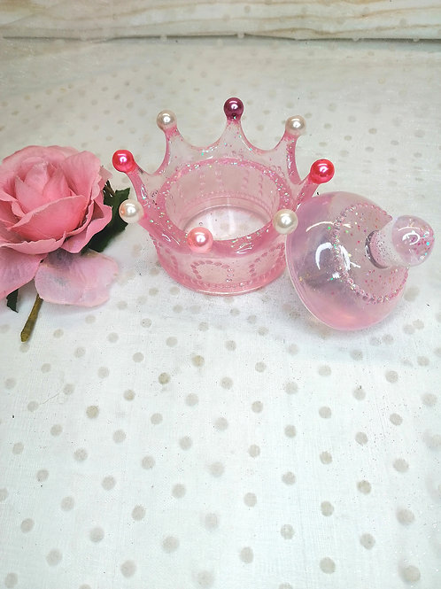 boite à bijoux couronne