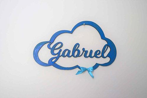 décoration nuage prénom personnalisée