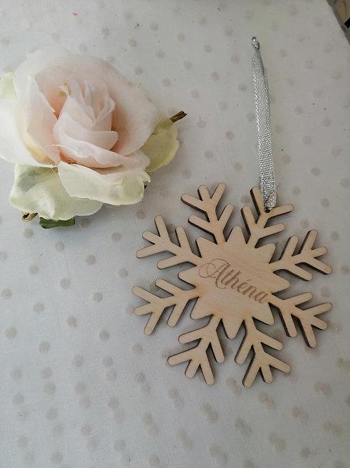 Etoile de Noël Personnalisable bois