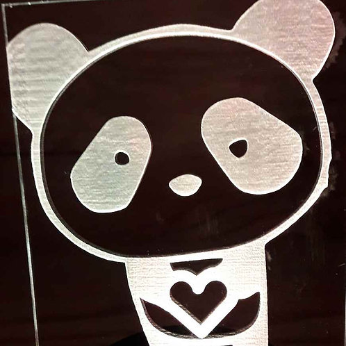 Lampe LED panda