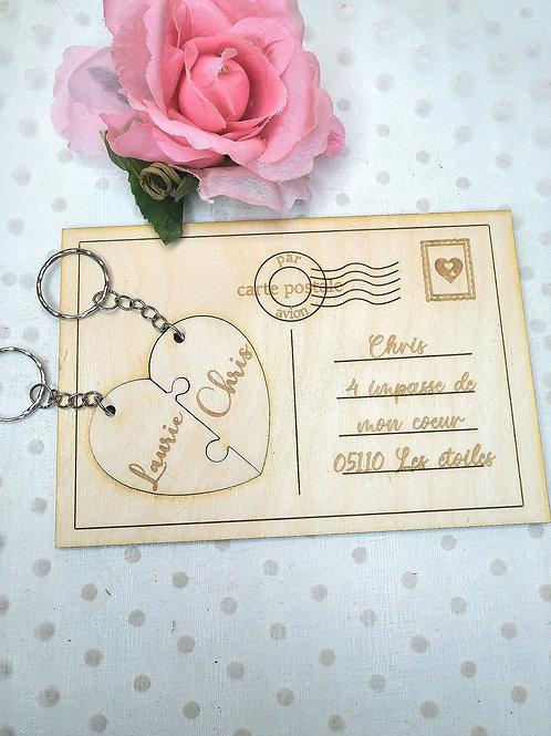 Carte postale St Valentin