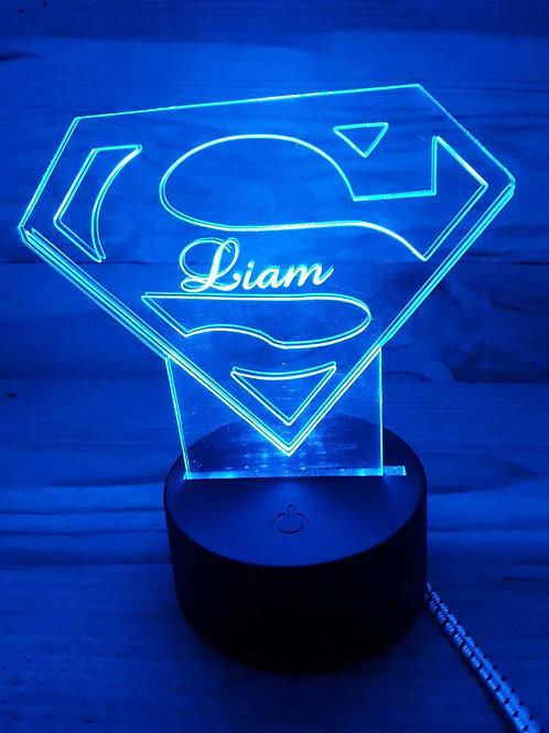 Lampe Led Super Héros