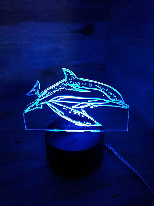 lampe LED dauphins