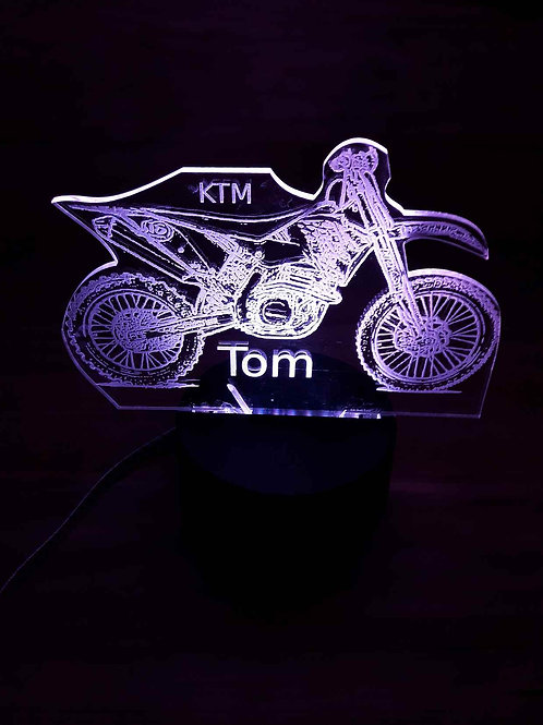 Lampe LED Motocross