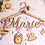 Thumbnail: Cintre Naissance Thème Princesse