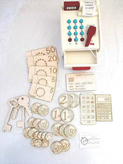 jouet d'imitation en bois
