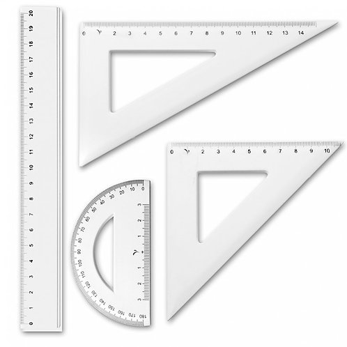 set de geometría