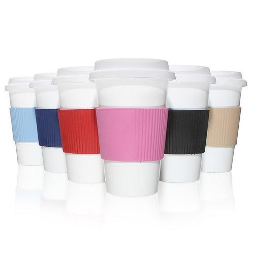 vaso de café + grip