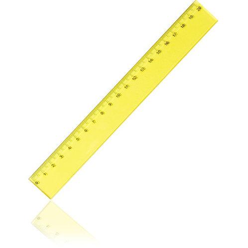 regla 20cmx26mm