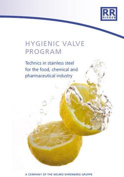 Hygienic vallves