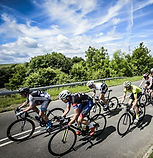 cycling coaching - group of cyclists
