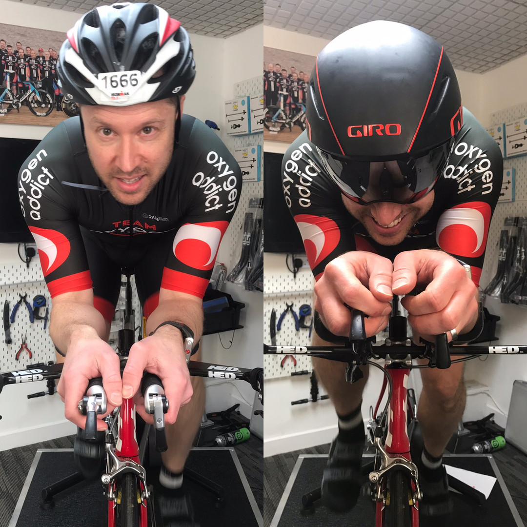 road bike fitting leicester - athlete on bike 3