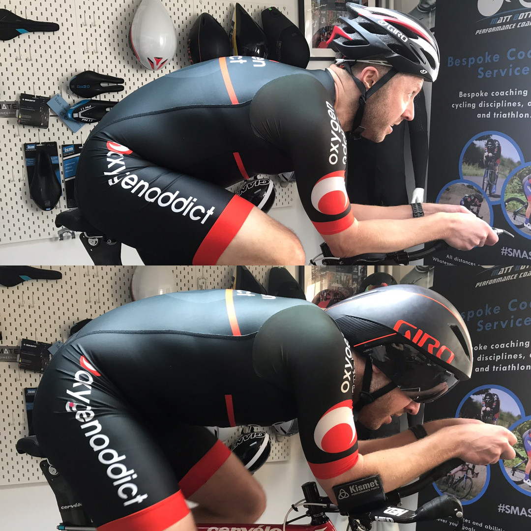 professional bike fitting leicester - athlete on bike 7EDF285-3365-4E1C-B34F-D4913077086A.JPG
