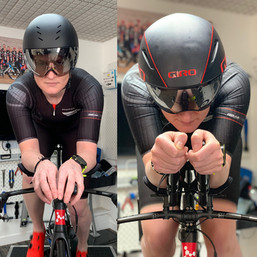 road bike fitting leicester - athlete on bike 4