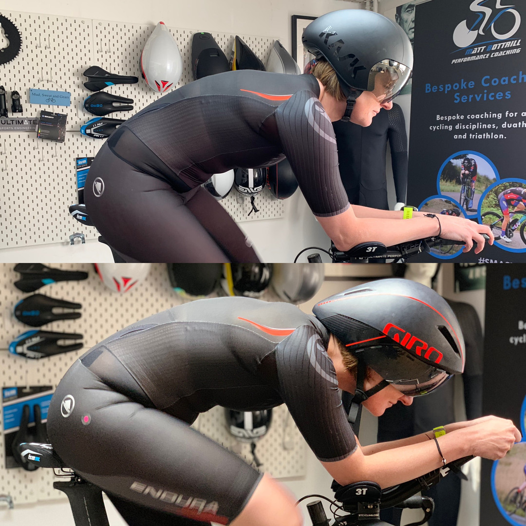 professional bike fitting leicester - athlete on bike 6