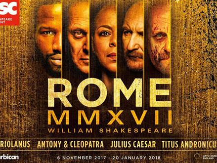 CASTING NEWS: RSC, 'ROME' SEASON