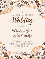 Wedding Program (Front)