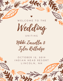 Wedding Program (Front)