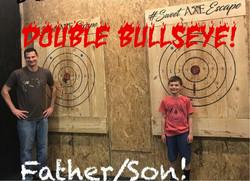 Double Bullseye-Father-Son