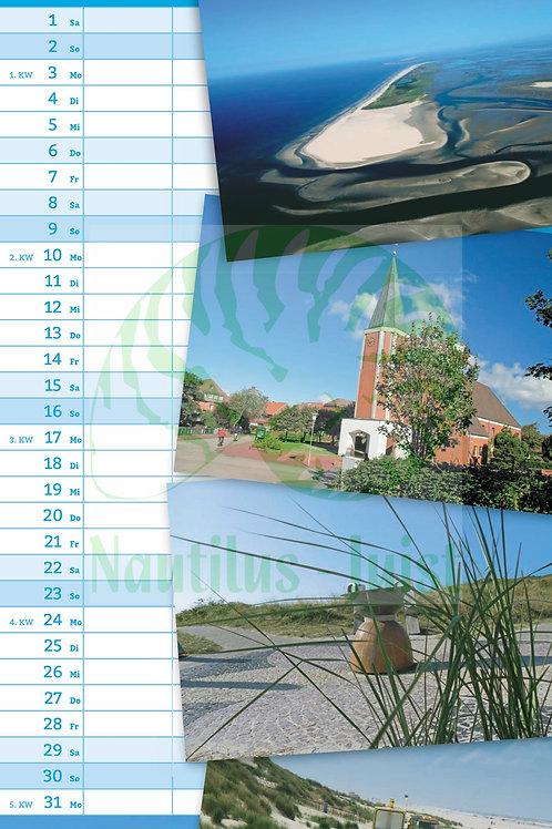 Streifenkalender 2022