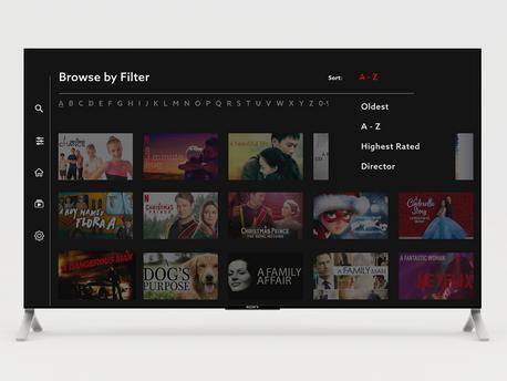 Netflix Content Filtering