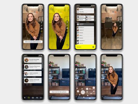 Snapchat Video Masking & Sending