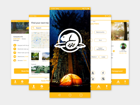 Parks Canada Camping App