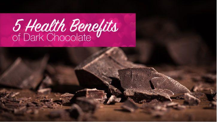 5 benefits of dark chocolate