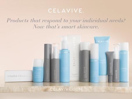 USANA Celavive Skincare with InCelligence Technology.