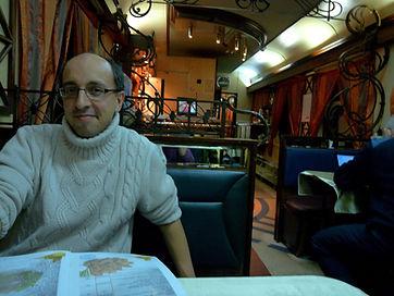 David Collin dans le transsiberien