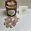 Thumbnail: Rose quartz aromatherapy candle - positive vibes scent
