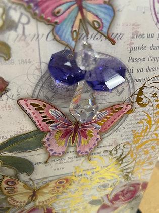 Amethyst Austrian Crystal Angel