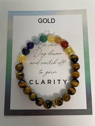 Buddha Chakra Bracelet - choice of buddha