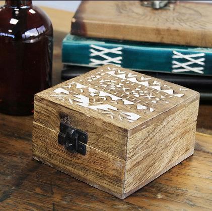 Wooden Bali box