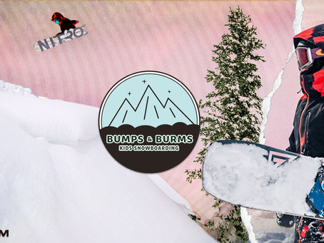 BUMPS&BURMS KIDS SNOWBOARDING
